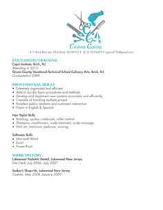 resume objective resume and fashion stylist on pinterest