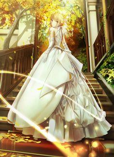 Anime Girl Wedding Dress 7