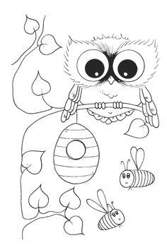 owl coloring pages coloring pages and coloring on pinterest