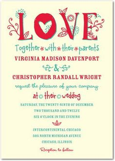 Informal Wedding Invitation Sample Wording