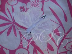 purple butterfly hair clip glitter girl light amethyst ab crystals bling glamm all about