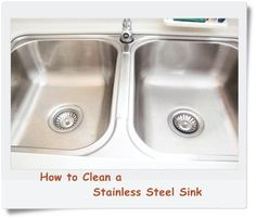 How To Clean A Dull Stainless Steel Sink Stainless Steel Sinks Sinks And Stainless Steel