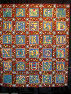 Baby Blocks Alphabet Fonts And Art Clipart On Pinterest