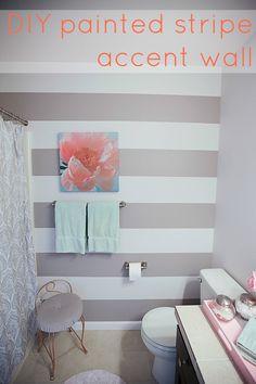 1000 Ideas About Striped Bathroom Walls On Pinterest
