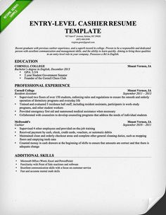 food service resume and resume examples on pinterest