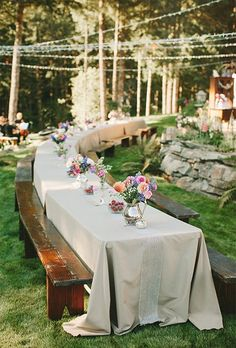 1000 Ideas About Long Wedding Tables On Pinterest Green