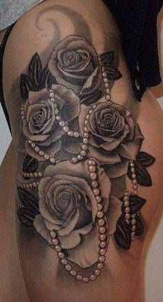 1000 Images About T A T T O O S On Pinterest Rose Tattoos Dog Tattoos And Realistic Rose Tattoo