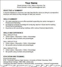 Resume Guide 2015. objective for teaching resume. job guide resume ...