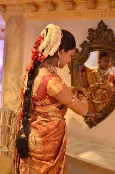 Mangalore Mallige Bride Moggina Jade Jadai Pelli