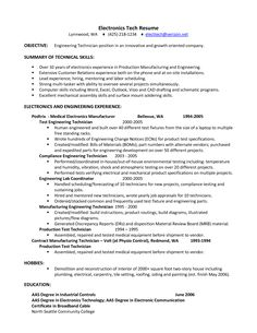 High Quality Engineering Resume Objectives Sample Http Jobresumesample Com Alib Resumes  Samples Executive Bw Registered Nurse Resume Samples Pertaining To Electronic Assembler Resume