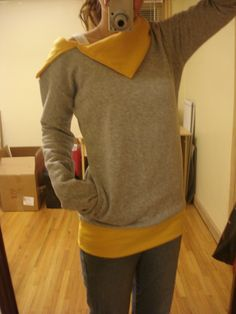 Sweatshirt tutorial
