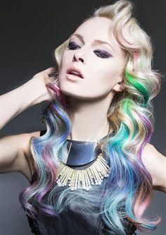 hair chalk on pinterest halloween hairstyles for girls and halloween hair