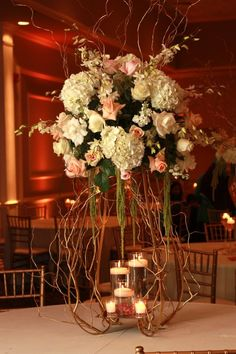 1000 Images About Centerpieces On Pinterest Candelabra High Tables And Floral Centerpieces