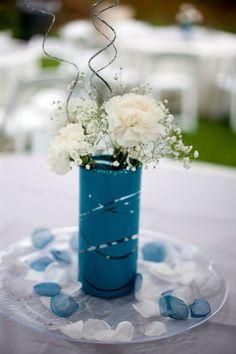 AA Blueturquoise Tablescapesweddings On Pinterest