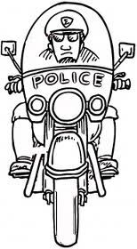 police police officer and coloring pages on pinterest