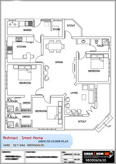 Here Is A Good Kerala Style Single Floor House Plan With 3bhk Elevation Details