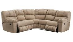 Slumberland Barton Collection 2 Pc Sectional Love