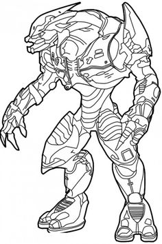 coloring pages for kids coloring pages and halo on pinterest