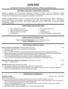 1000 images about best finance resume templates amp samples on