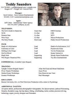 acting resume for beginners theatre beginner acting resume sample ...
