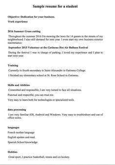 cv template for a 16 year old cv template