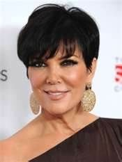 Chris Jenner Kim Kardashian Hair Cuts Pinterest