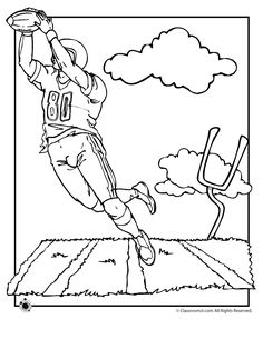 sample coloring coloring pages football coloring pages coloring