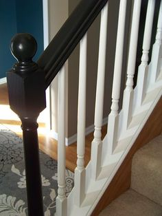 1000 Ideas About Painted Banister On Pinterest