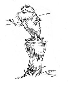 the lorax once ler coloring pages pesquisa google ideas for