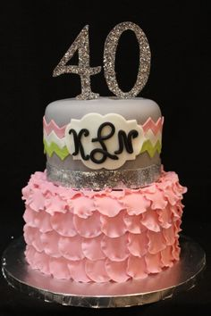 1000 Images About 40 Birthday Cake On Pinterest 40th