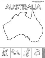 coloring pages coloring and australia on pinterest