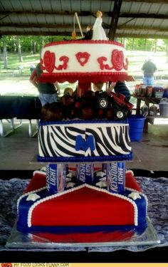 1000 Images About Redneck Wedding Cakes Amp Toppers On