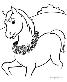 colorear on pinterest horse coloring pages animales and dibujo
