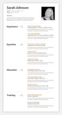 1000 images about cv templates on pinterest resume design