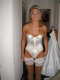 brides dressed then undressed