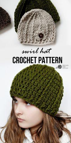 Crochet Beanie Patte