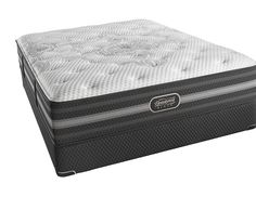 For Simmons Beautyrest Black Desiree Plush California King Size Mattress Set Get Free Shipping At Your Online Furniture Outlet