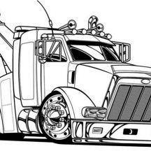 tow truck coloring pages and trucks on pinterest