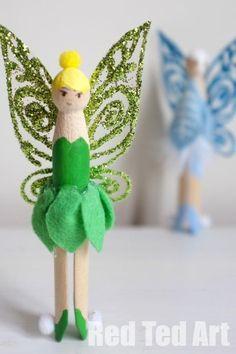 DIY Tinkerbell Cloth