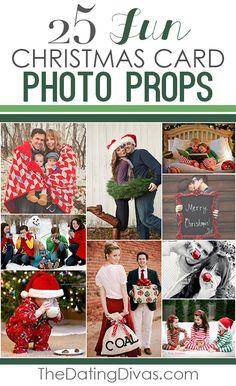 25 Fun Christmas Card Photo Props Such Cute Ideas