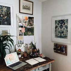Art and writing nook