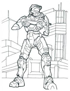 printable coloring pages coloring pages and halo on pinterest