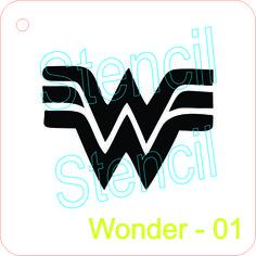 Wonder Woman Logo Template WonderWoman Logo Vector