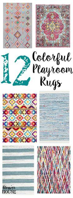 12 Colorful Playroom