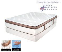 Texas Mattress Makers Everest Gel Memory Foam Xtreme Firm 959 00 Queen Set Http Www Texasmattressmakers