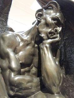 """Résultat de recherche d'images pour """"Satan louvre sculpture"""""""