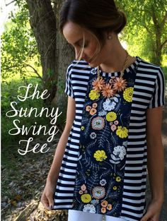 The Sunny Swing Tee