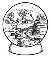 christmas snow globes snow globes and coloring pages for kids on