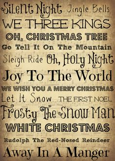 Music On Pinterest Christmas Music Christmas Sheet