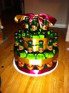 Corona Beer Bottle Cake Simple And Awesome Guy